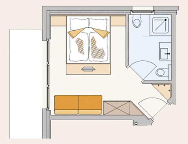 Zimmer-Comfort-Plan