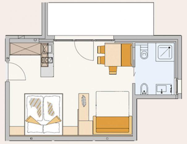Zimmer-Deluxe-Plan