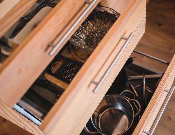 cucina in apartamento